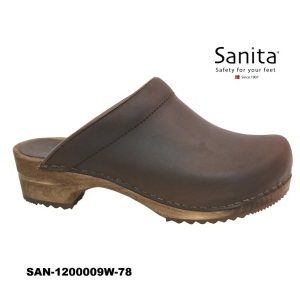 Sanita Chrissy Clogs braun